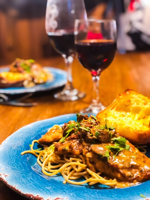 Chicken Marsala Over Whole Wheat Pasta Wecooktogether